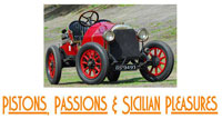 Pistons, Passions, and Sicilian Pleasures