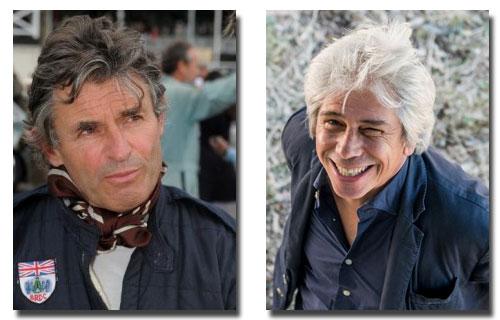 Our Presenters - Alain de Cadenet and Francesco da Mosto
